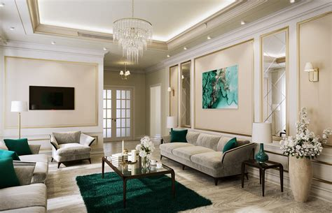 American Style House Interior Design In Dammam Cas