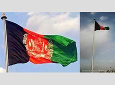 President Karzai and Indian FM raises largest Afghan flag