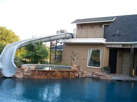 Image Result For Pinterest Second Floor Pool Water Slide