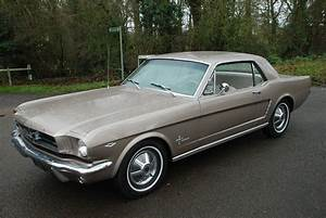 """SOLD: """"Mary"""" 1965 Gold Ford Mustang V8 Auto Coupe Survivor - Essex Mustang Centre"""