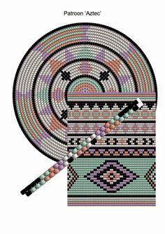 Diagramme Crochet Tunisien