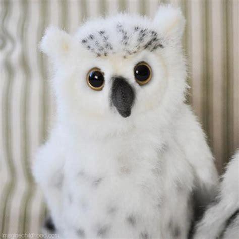 baby snowy owl snowy owl lifelike stuffed animals