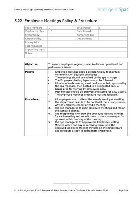 operating guidelines template lascazuelasphillycom