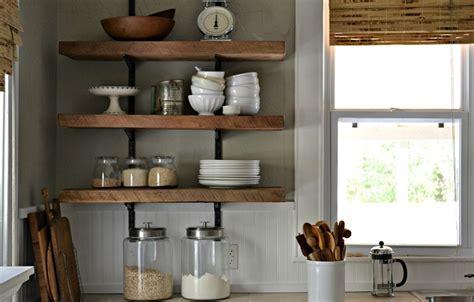 arredare mensole mensole per cucina piani d appoggio per attrezzare le
