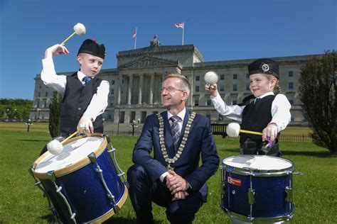 uk pipe band championships set  stormont ulster