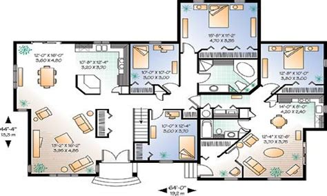 house plans modern bungalow house floor plans