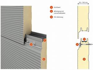 Sandwichplatten Wand 30 Mm : sandwichelemente erstklassige energieeffizienz f r ihr bauvorhaben ~ Frokenaadalensverden.com Haus und Dekorationen