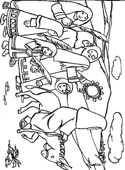 Kleurplaat Abraham Op Reis by Religie Kleurplaat 187 Animaatjes Nl