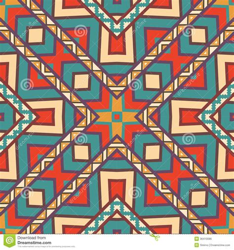 aztec colors seamless colorful aztec pattern stock vector image 36410086