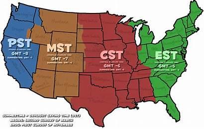 Map Printable Zones Zone Usa States Gmt