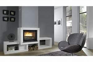 Cheminée à Bois : cheminee insert chazelles ~ Premium-room.com Idées de Décoration