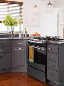 Silver Color Paint Kitchen Cabinets