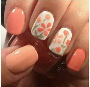 Flower nail art designs best
