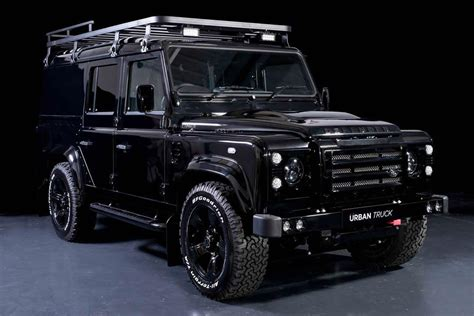 defender land rover land rover defender gets tricked out by urban truck