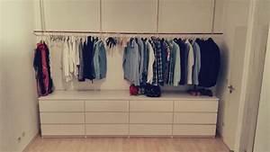 Ikea Offener Schrank : offener kleiderschrank wohnen closet bedroom walk in closet und malm dresser ~ Watch28wear.com Haus und Dekorationen