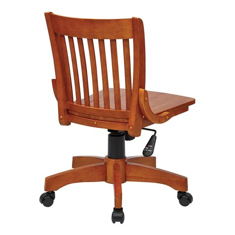 Armless Wood Bankers Chair Espresso by Deluxe Armless Wood Bankers Chair With Wood Seat Fruit