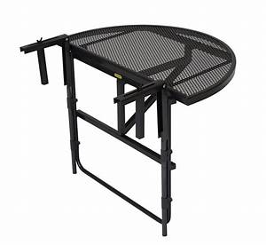 Tisch Für Balkongeländer : balkonh ngetisch balkontisch balkonklapptisch 70x42cm streckmetall grau 2 wahl ebay ~ Whattoseeinmadrid.com Haus und Dekorationen