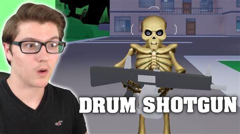 drum shotgun update  strucid roblox fortnite