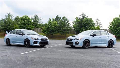 2019 Subaru Wrx And Wrx Sti Seriesgray Models Debut At