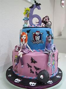 Monster High Kostüme Für Kinder : geburtstage kinder monster high torte f r 6 geburtstag von meiner enkelin pinterest ~ Frokenaadalensverden.com Haus und Dekorationen