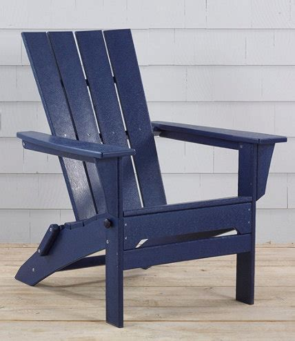 all weather adirondack chair square back l l bean