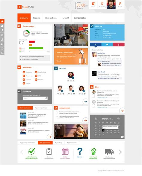 Intranet Portal Design Templates Intranet Portal Design Templates Image Collections