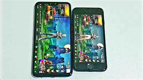 huawei y9 2019 vs iphone 7 speed test 4k