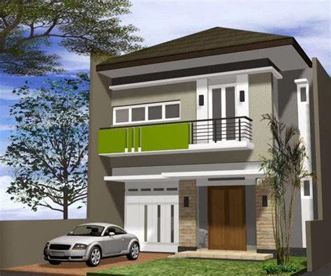 gambar desain renovasi rumah type  menjadi  lantai