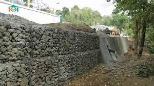 Mur De Soutenement En Gabion : shopping kay le mur de sout nement en gabion youtube ~ Melissatoandfro.com Idées de Décoration