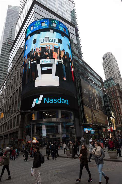 U-Haul Rings NASDAQ Closing Bell in Honor of Veterans - My ...