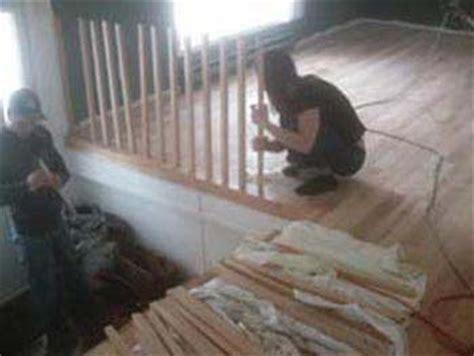 decaper escalier en bois d 233 capage de re d escalier bois franc d 233 caper petit