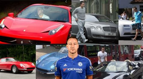 Chelsea legend john terry is a collector of ferrariscredit: Top 10 richest footballers in the world | naijacarnews.com