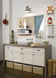 cape cod vanite de salle de bain en polyester With couleur salle de bain tendance