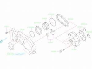 2019 Subaru Forester Oil Seal  Pump  Transmission