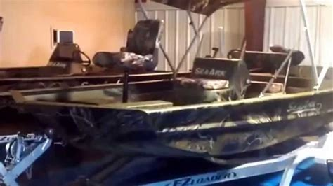 Fishing Jon Boats For Sale by 2015 Sea Ark Rxjt180 Aluminum Fishing Jet Tunnel Jon Boat