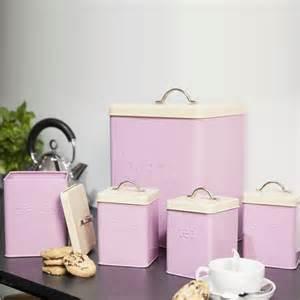 storage canisters for kitchen 5pcs enamel tea coffee sugar bread bin biscuit storage jar canister kitchen set ebay