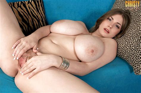 Young solo girl Christy Marks loosing huge boobs from ...