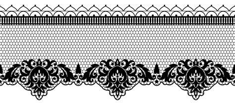 Transparent Lace Decoration Png Image