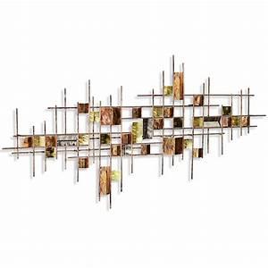 Popular interior design metal wall art rbservis