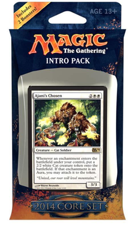 mtg intro decks origins magic 2014 intro pack decklists daily mtg magic the