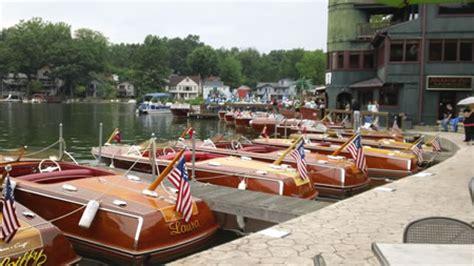 deck portage lakes history antique classic boat show portage lakes ohio