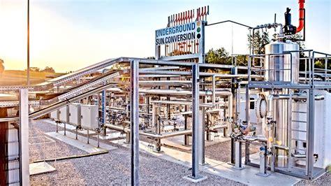 memproduksi metana  energi  gudang bawah tanah menggunakan energi matahari