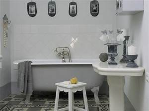 decoration salle de bain vintage With salle de bain retro photo