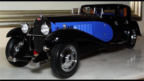 1:18 / 1:21 diecast 1930 bugatti type 41 royal by solido. 1/18 1930 Bugatti Type 41 Royale Coupe Napoleon black / blue by Bauer - FCaminhaGarage HD - YouTube