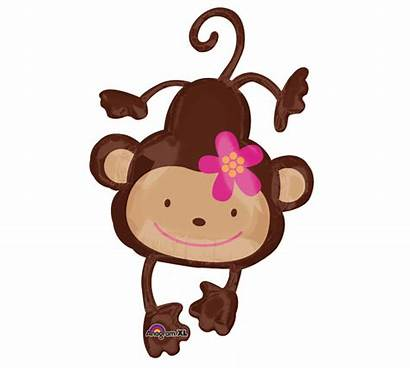 Monkey Balloons Clipart Clip Balloon Shower Anime