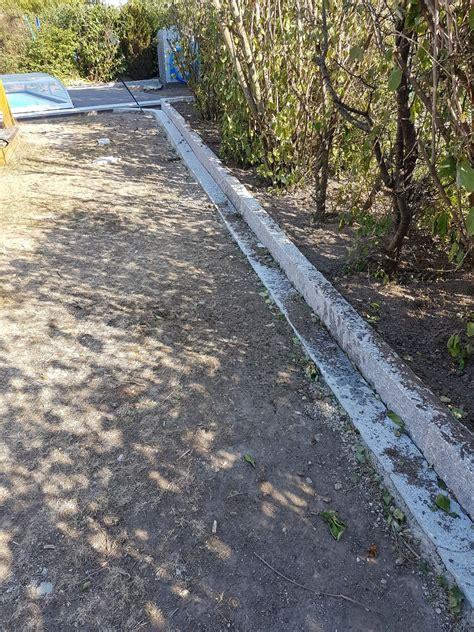 Fallschutz  Garten  Wasser Stein