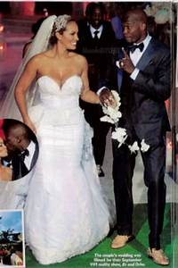 red carpet wedding evelyn lozada and chad ochocinco red With evelyn lozada wedding dress