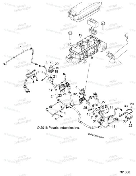 Polaris Side Oem Parts Diagram For Electrical
