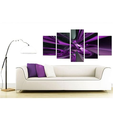 large purple abstract canvas prints uk 5