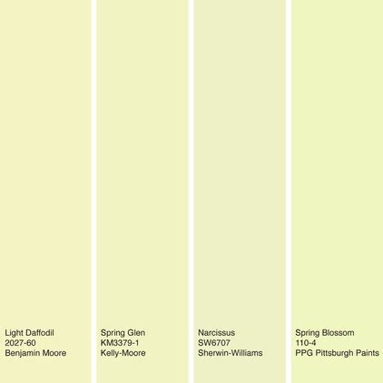 color of the week spring blossom yellow decor ideas